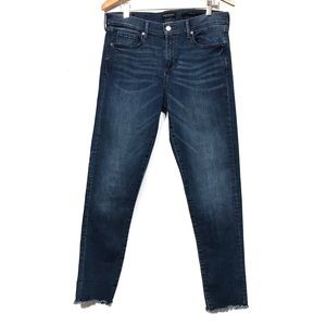 Banana Republic raw hem skinny 30 (1195-Dg)